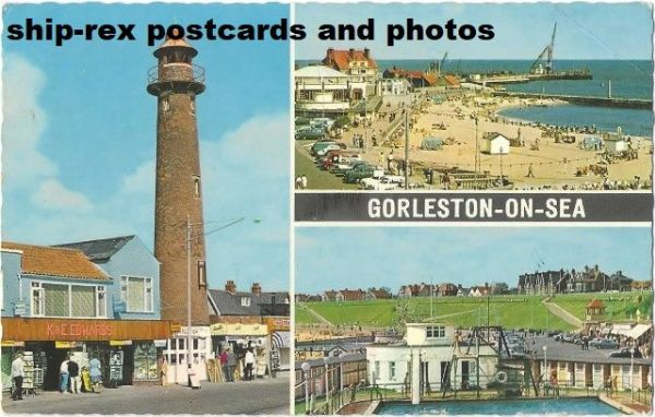 Gorleston-on-Sea (Norfolk) postcard (a)